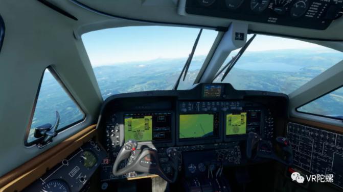 【测评】苦学3天才上天?774元《微软飞行模拟2020》VR模式深度体验